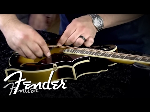 How to Place & Install a Mandolin Bridge | Fender