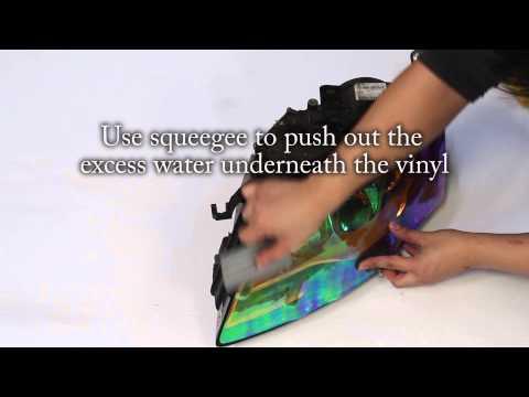 Chameleon Film: DIY Headlight Tinting