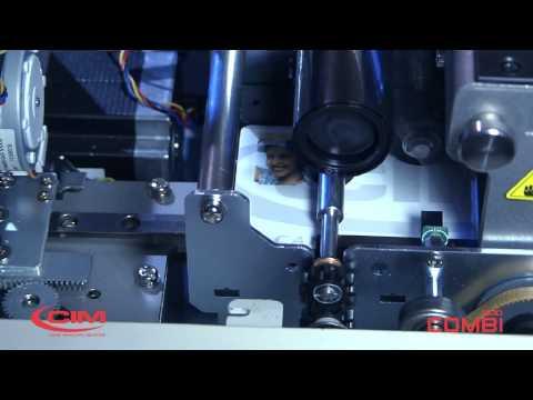 Plastic Card Printer and Embosser - CIM Combi500