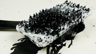 How Does iPhone 7 React To Magnetic Ferrofluid?