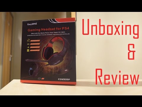 Unboxing & Review: EasySMX Gaming Headset