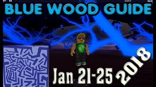 Roblox Lumber Tycoon 2 Blue Wood Maze Guide Road Map 10 06 2018