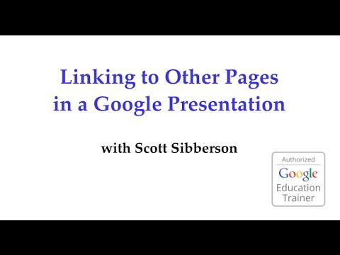 Link to Slides in Presentation