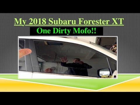 My Subaru Forester XT 2018 is ONE DIRTY MOFO!!