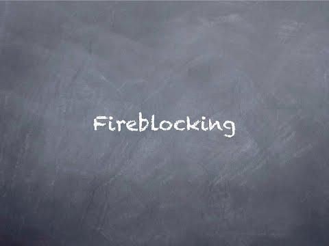 Fireblocking