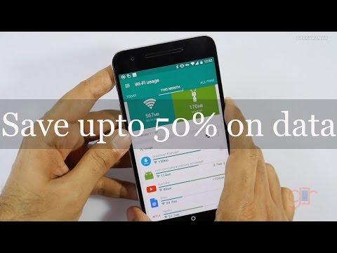Save upto 50% data while watching YouTube & Netflix videos