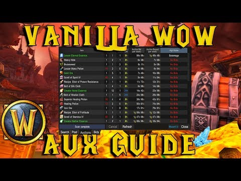WoW Vanilla Classic: AUX Addon Guide and Tutorial!