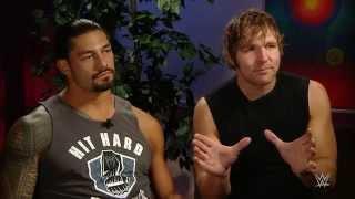 "Dean Ambrose & Roman Reigns prepare for ""war"" at SummerSlam:   Aug. 12, 2015"