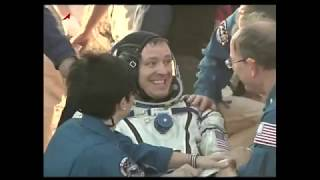 Expedition 52 Crew Lands Safely in Kazakhstan