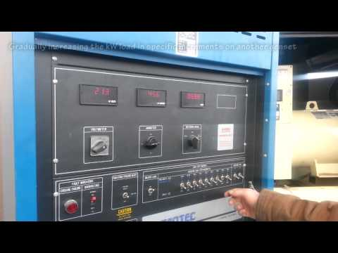 Load Bank Testing Generators - Commercial Generator Sets