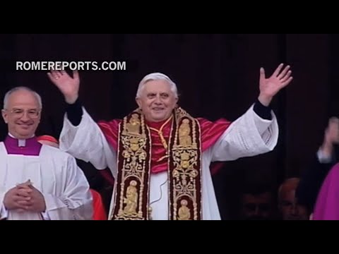 Ten years since the election of Pope Benedict XVI