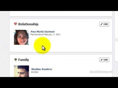 Change Facebook Relationship Status
