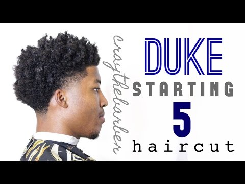 Duke Starting 5 Haircut | Bald Taper with Curls | Craythebarber