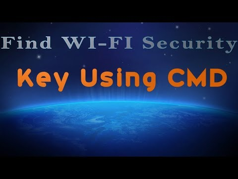 How to find WI FI Security key using CMD | Command Line |Someone password