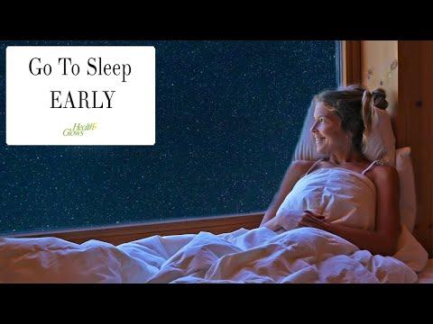 How To Make Myself Love To Go To Sleep Early