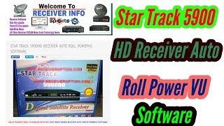 STAR TREK ST 550D HD RECEIVER AUTO ROLL BISS KEY NEW SOFTWARE Videos