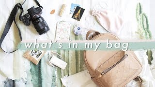 What's In My Travel Bag 🎒