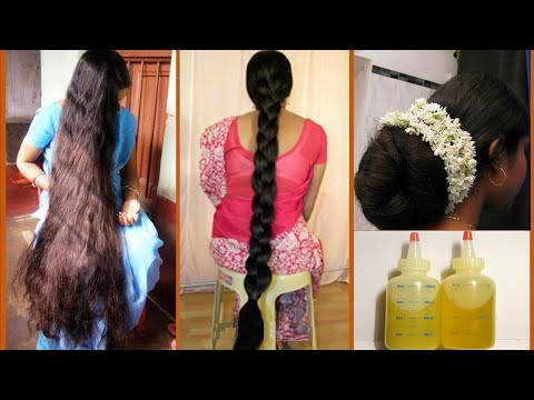 SUPER STRONG LONG THICK BLACK HAIR GROWTH - NEW METHOD