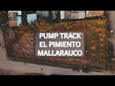 Pumptrack público en el Pimiento, Mallarauco!