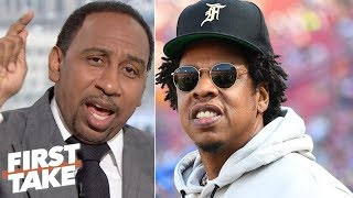 Who Cares About Jay-z's Music Being Played At Dolphins Practice? – Stephen A. | First Take