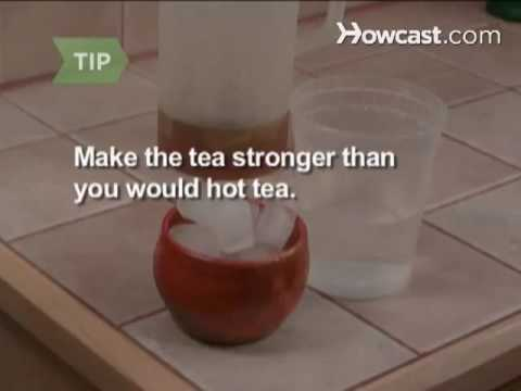How to Make Iced Tea in a Snap