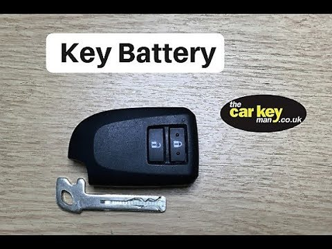 Key Battery Peugeot 108 Citroen C1 Prox Key