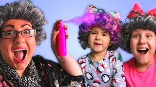 GRANNY IN CHARGE!! KIDS CAN