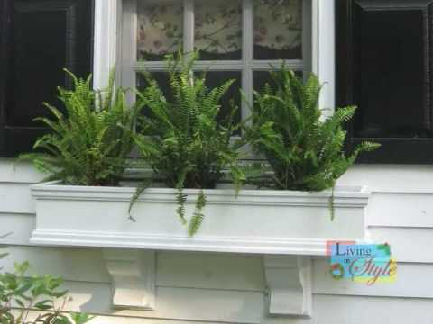 Flower Window Boxes and Planters