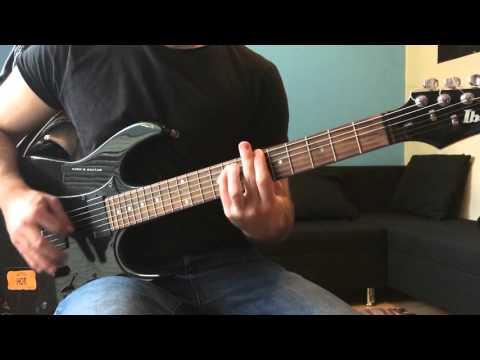 Metallica - Jump in the Fire - Guitar cover (Rhythm guitar)