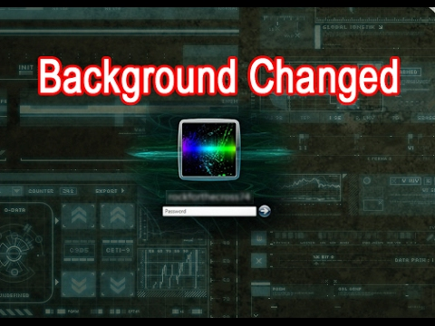 How to Change Windows 7, 8, 10 Logon Screen Background Easily.