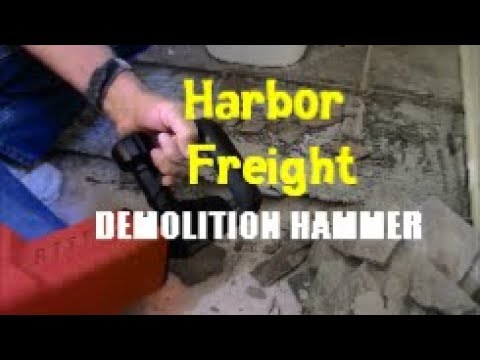 Harbor Freight Demolition Hammer Review