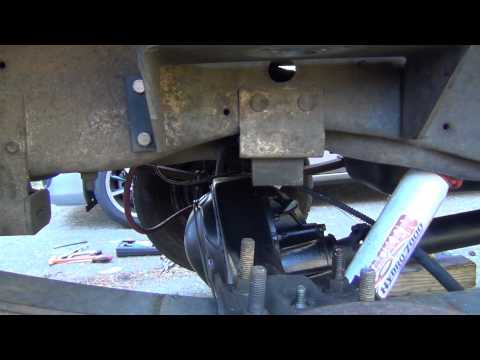 1982 Ford F150 Leaf Spring Shackle Bushing Replacement