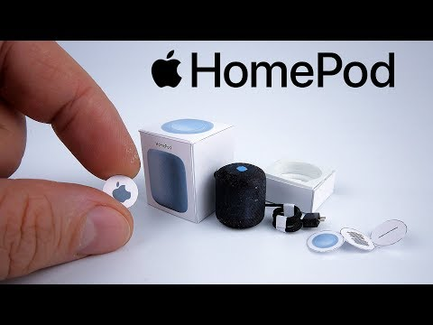 DIY Realistic Miniature Apple homepod mini | DollHouse | Unboxing