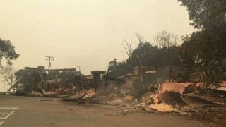 Winery owner describes damage caused by California wildfire