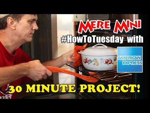 Amex EveryDay: Make this oven rack puller in 30 minutes. Mere Mini