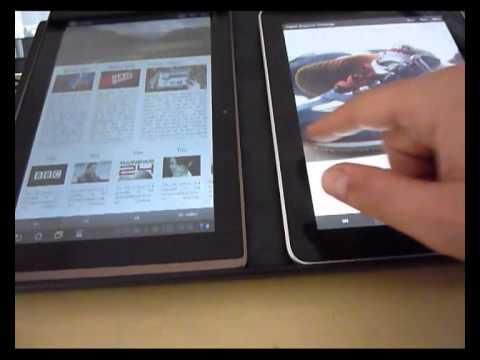 Digital Magazine - IPAD/Android tablet (Prototype)
