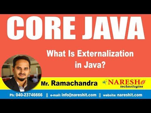 Core Java Tutorials | What Is Externalization in Java ? | Mr.Ramchandra