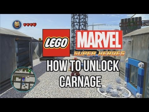 How to Unlock Carnage - LEGO Marvel Super Heroes