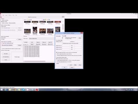 Irfanview Tutorial - Batch Conversion/Rename