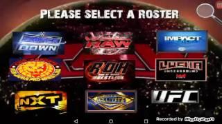 WWE 2K16 WR3D MOD ROSTER