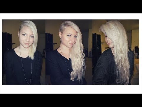 How I Put in my Hair Extensions (With a Side Cut)