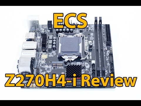 ECS Z270H4-i ITX Motherboard Review
