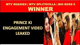 [Leaked] Prince & Yuvika Officially Engaged Now \ Big Boss 9 Couple