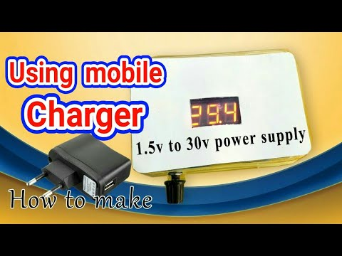 Transformer less adjustable power supply | how to make