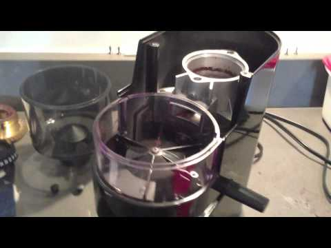 Disassembling and Changing Fuse on a Gaggia MDF Coffee Grinder PART 1