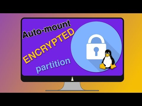 Auto-mount Encrypted partitions at boot (Easy!)