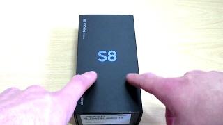 Samsung Galaxy S8 (midnight black) Unboxing
