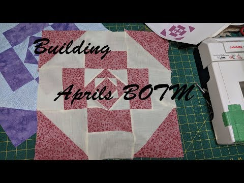 Building April Block Of The Month