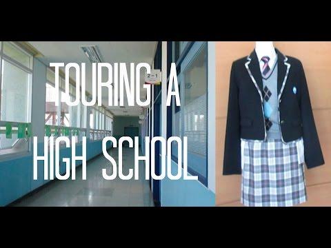 Touring a Korean High School   patplustricia