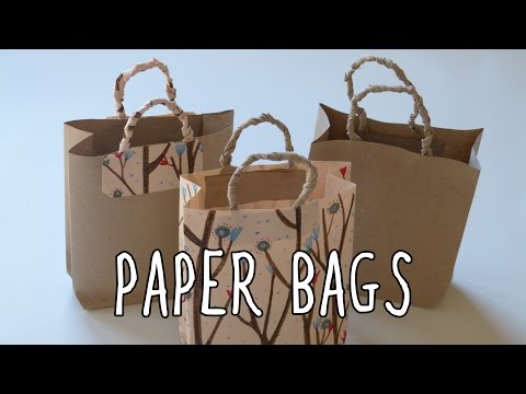 How to make a paper bag | DIY gift bags